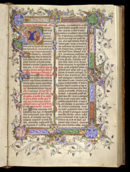 Vigil of St Andrew's feast, in a Missal